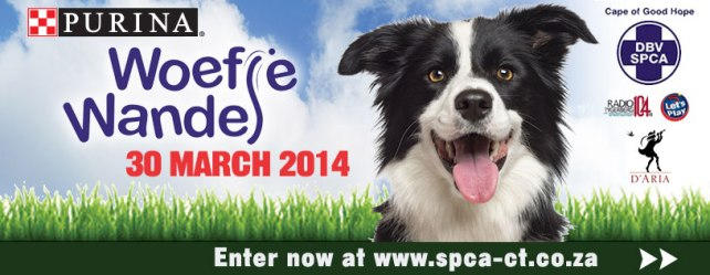 SPCA Woefie Wandel doggie walk