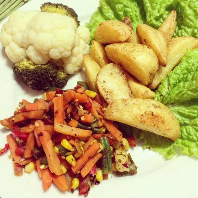 High carb low fat vegan dinner rawtill4