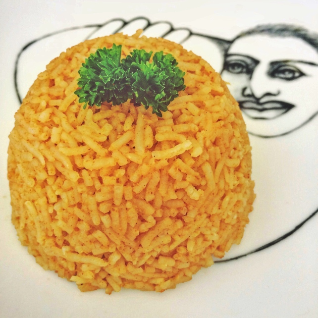 HCLF vegan sweet curried rice