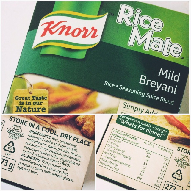 Accidentally vegan Know Rice Mate