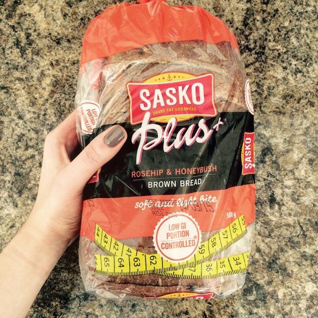 Sasko Plus vegan low GI low carb bread