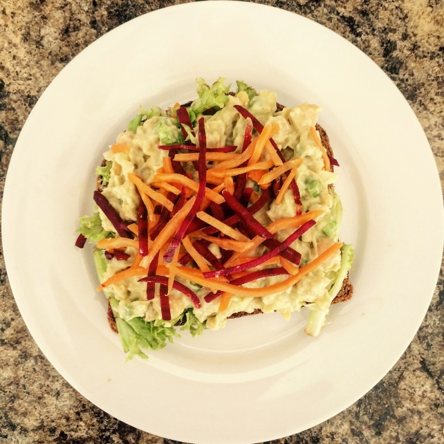 Vegan Chick Mayo Sandwich